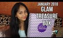 GLAM TREASURE BOX January 2018 | Unboxing & Review | Fresh Start Edition | Stacey Castanha