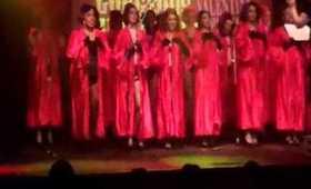 NYC Burlesque Choir performs at Filthy Gorgeous Burlesque (2.14.12)