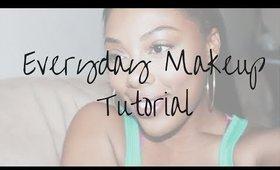 Easy Everyday Makeup Tutorial   Hello Imani