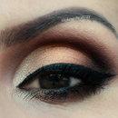 3D eyes make-up