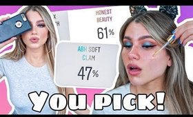 LETTING MY FOLLOWERS CHOOSE MY MAKEUP! + GIVEAWAY