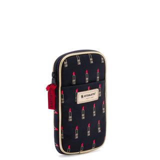 Valiant Rouge Black Minimal Multi-Purpose Pouch