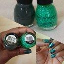 My take on mermaid nails