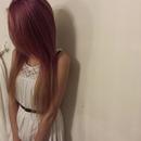 ombre purple hair!