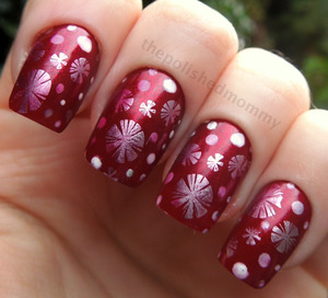 http://www.thepolishedmommy.com/2012/12/12-days-of-christmas-red.html