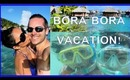 BORA BORA VACATION VLOG: Snorkeling, Parasailing, FUN!!!