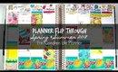 Planner Flip Through: Spring & Summer 2018 | Erin Condren Life Planner