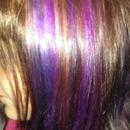 Pink, Purple, & Blonde Peekaboos