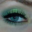 Green summer look
