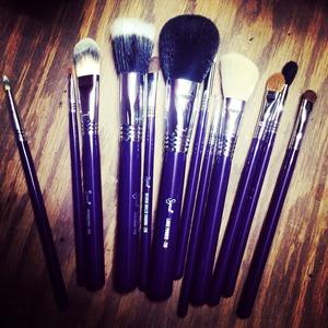 Brushes I love