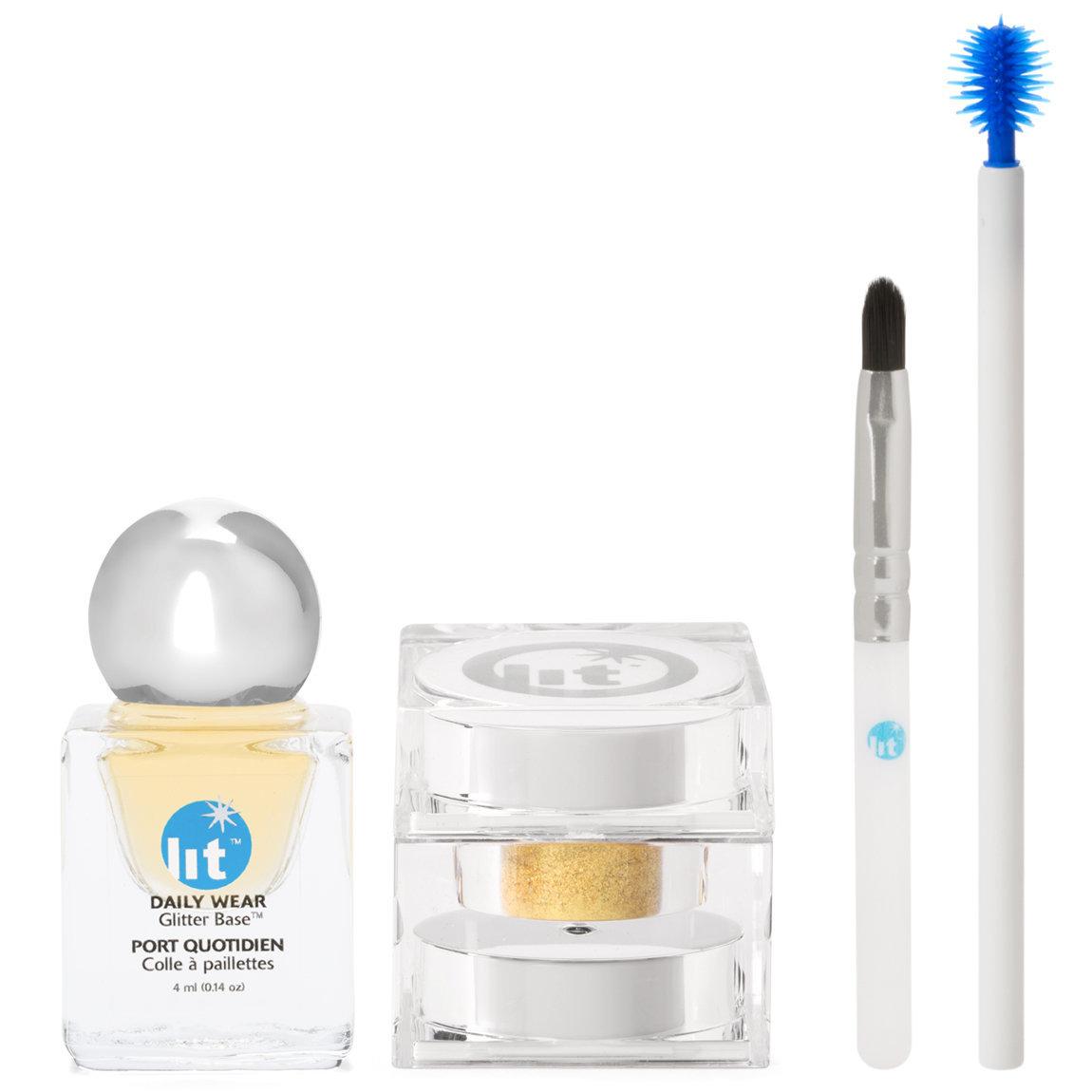 Lit Cosmetics Lit Kit: Lit Metal Kits Glisten (Gold) alternative view 1.