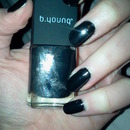 B.Young Black Nail Polish
