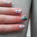 My lovely owl nails <3