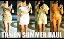 Clothing and Swimsuit Try On Haul for Summer. REVOLVE. YESSTYLE. STYLENANDA. PLT. FREE PEOPLE. ASOS