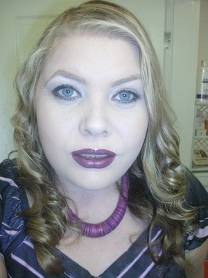 I am really loving purple lippies this fall.