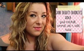 June Beauty Favorites 2013