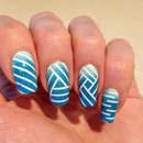 Abstract striping