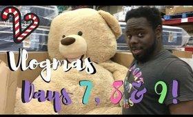 He's bigger than Tyrell! | Vlogmas Day 7,8,9! ♡ Christina Amor
