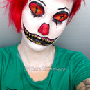 Scary clown doll