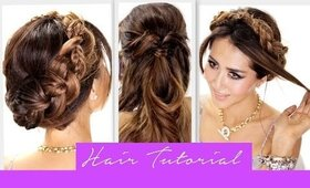 ★3 Amazingly EASY BACK-TO-SCHOOL HAIRSTYLES | How to Cute Braids Hairstyle