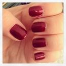 January Nails, Garnet!