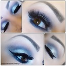 Blended Silver Eyeshadow