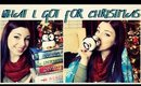 ❅ What I Got/Gave For Christmas ❅ {+ Mini Giveaway} ❅