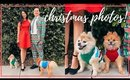 VLOGMAS DAY 2 | Taking Christmas Pictures & Holiday Candle Haul