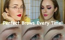 My Brow Routine *For Fuller Eyebrows* : Get Perfect Brows Every Time