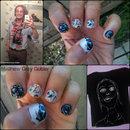 Matthew Gray Gubler inspired nails!
