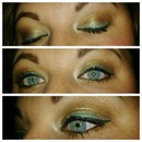 Bronze and Turquoise Eye!