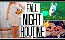 MY NIGHT TIME ROUTINE! Fall 2015
