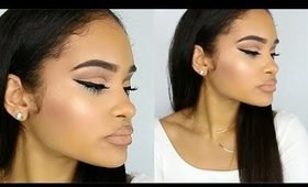 Spring Makeup Tutorial | Neutral Cut Crease w/ Pop of Color