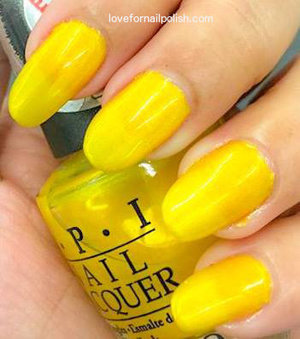For details visit http://lovefornailpolish.com/yellow-nail-polish-opi-lemonade-stand-by-your-man-swatches-and-review