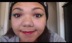 Christmas Look: Red+Green