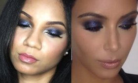 Purple Glam (Kim Kardashian) Makeup Tutorial | Bianca Renee Beauty