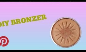 How to make Bronzer Inspired by Pinterest