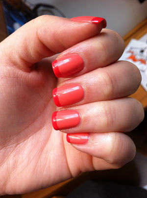 2.1 orange nails too coral...