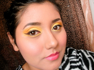 Belle inspired makeup