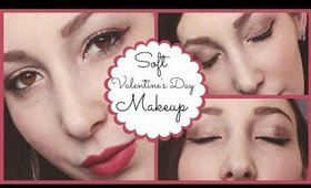 Soft Romantic Valentines Day Makeup Tutorial Feat. Urban Decay's Naked Palette | JordynxAriel