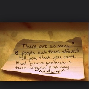 I love this saying, it's so true! (: