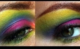 WHAM! Ultra colourful tutorial!