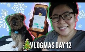 🎄 VLOGMAS DAY 12: FAIL DOG PARK DAY, HOLIDAY PIKACHU | MakeupANNimal