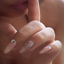 Heart outline nail tutoiral
