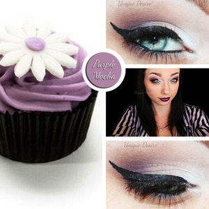 Inspired by this cute little mocha chocolate cupcake!