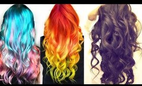★ 5 EASY Lazy WAYS to CURL Your Hair with LESS HEAT 💙  HAIRSTYLES