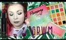 Violet Voss Flamingo GRWM plus new makeup Morphe, Pixi, Jeffree Star