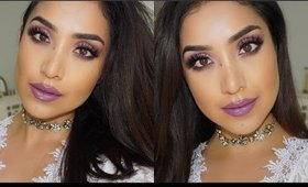 GORGEOUS MAUVE GLAM TUTORIAL  ||  DULCE CANDY