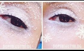 Machiaj de iarna (cu zahar?) / Winter makeup (using sugar) - Tutorial