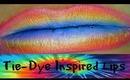 Tie Dye Inspired Lips Tutorial